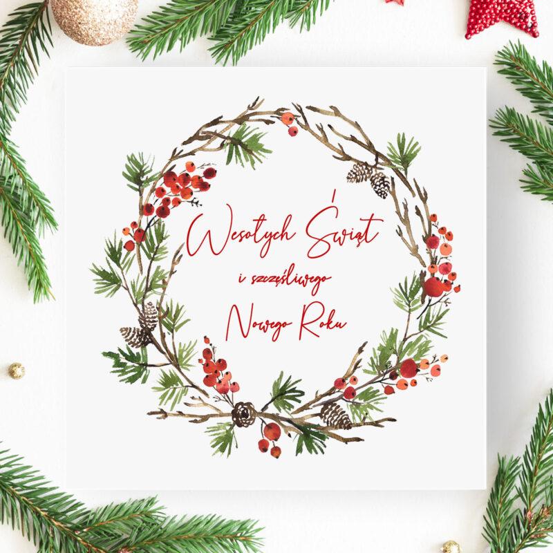 Kartka Świąteczna Logowana