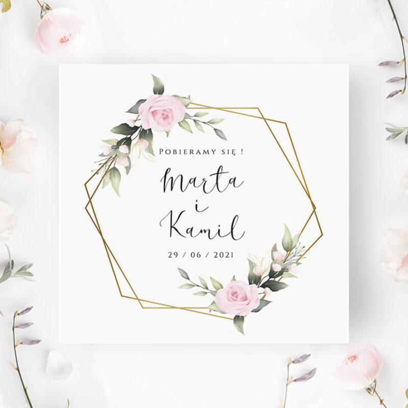 Zaproszenia Ślubne - Paperstudio