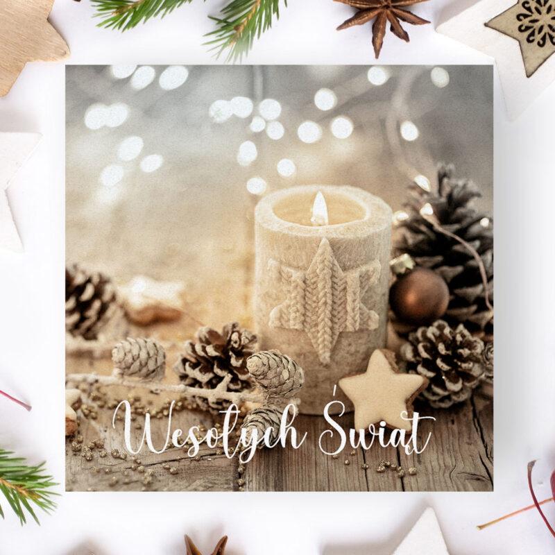 Kartka Świąteczna Logowana dla firm4