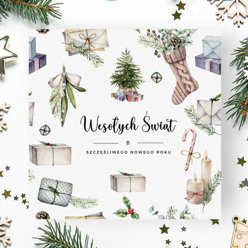 Kartki świąteczne logowane
