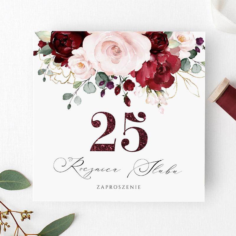 Zaproszenie na 25 Rocznicę Ślubu